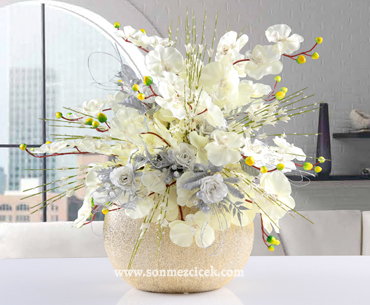 Yapay Çiçek Gönder- Ýsteme Çiçeði