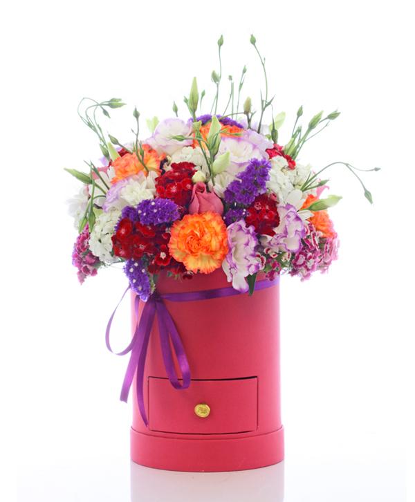 Kutuda Mevsimin En Güzel Çiçekleri